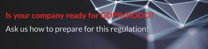 how to prepare for gdpr rodo