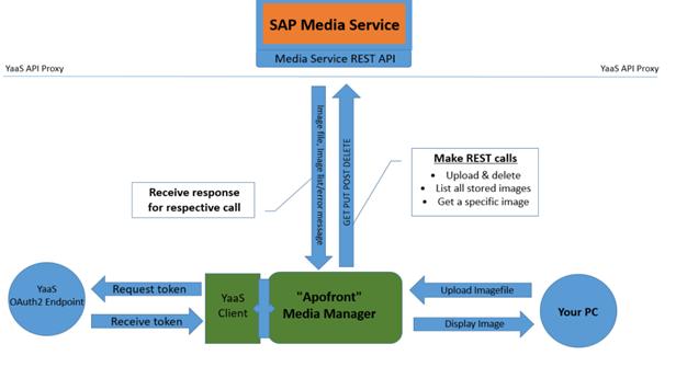 sap media service hybris yaas