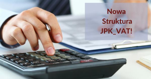 nowa struktura JPK