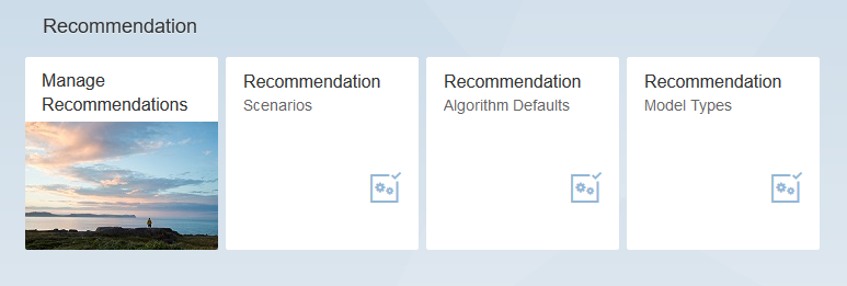 sap hybris marketing recommendation fiori