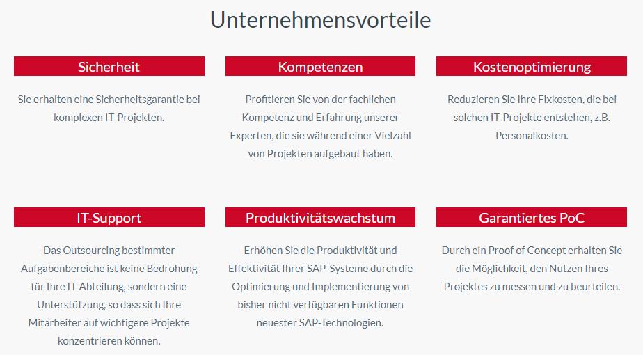 SAP Basis unternehmensvorteile