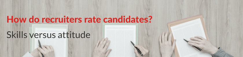 how do recruiters judge candidates